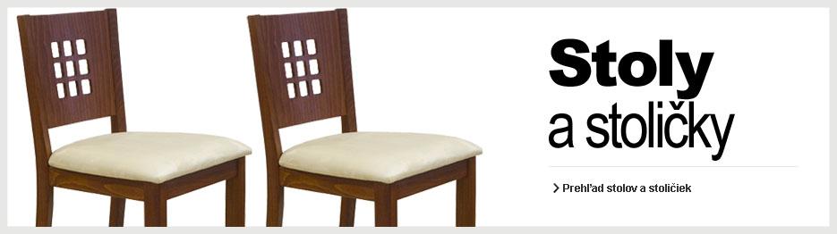 Stoly a stoličky